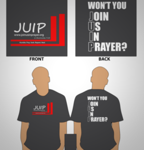 Join us in prayer t-shirt